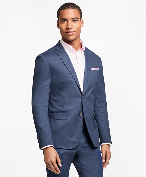 Two-Button Pincord Sport Coat Navy
