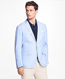 Polka Dot Irish Linen Sport Coat