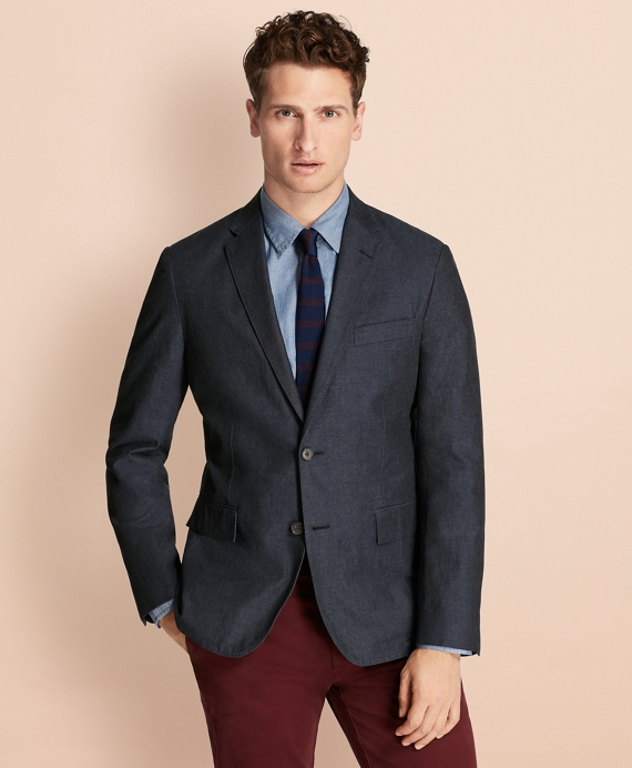 Cotton Twill Sport Coat - Brooks Brothers