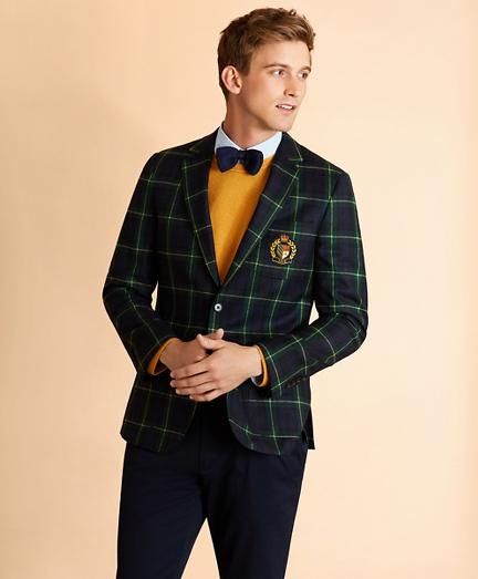 Wool-Blend Gordon Tartan Sport Coat