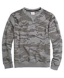 Camo Crewneck Sweatshirt