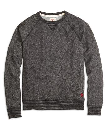 Slub Raglan Crewneck Sweatshirt