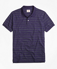 Anchor Stripe Polo Shirt
