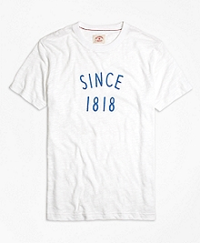 1818 Embroidered Tee Shirt