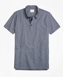 Micro Stripe Polo Shirt