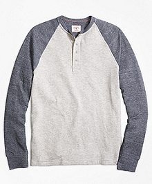 Long-Sleeve Baseball Henley