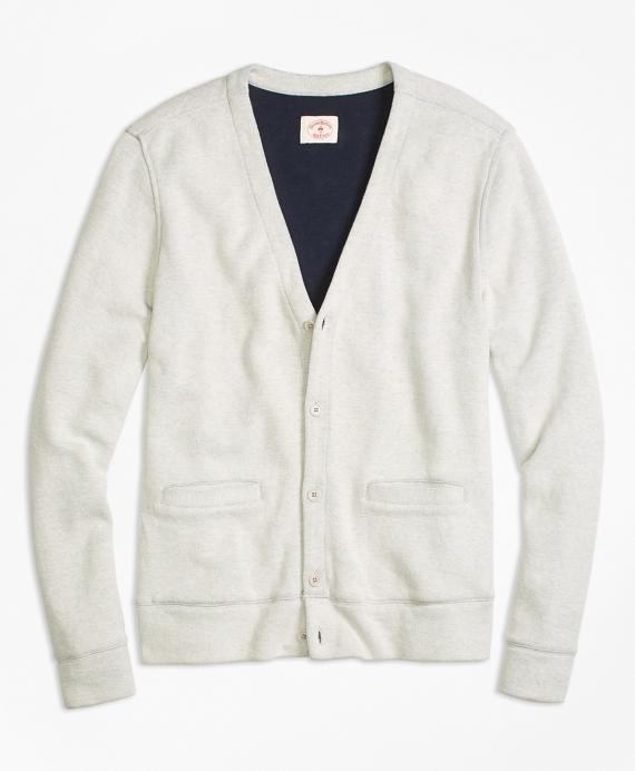 Dufold Cotton Button-Front Cardigan