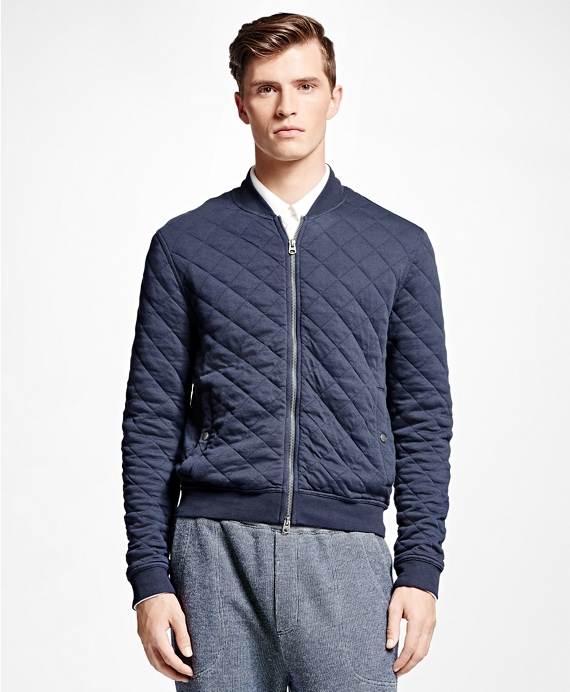Quilted Bomber Jacket Bb Au Ecommerce