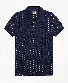 Foulard Print Polo Shirt
