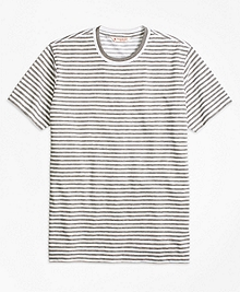 Heathered Stripe Tee Shirt
