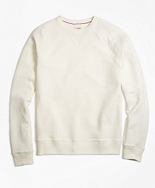 French Terry Raglan Crewneck Sweatshirt