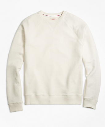 French Terry Raglan Crewneck Sweatshirt