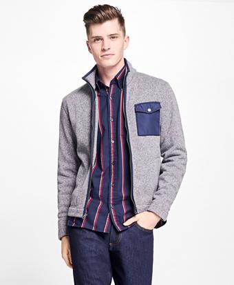 Full-Zip Polar Fleece Jacket