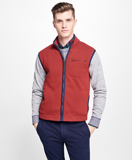 Full-Zip Polar Fleece Vest