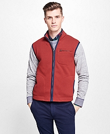 Full-Zip Polar Fleece Vest