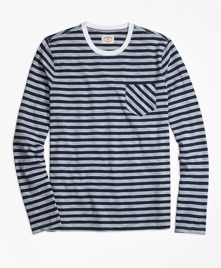 Long-Sleeve Sailor Stripe T-Shirt