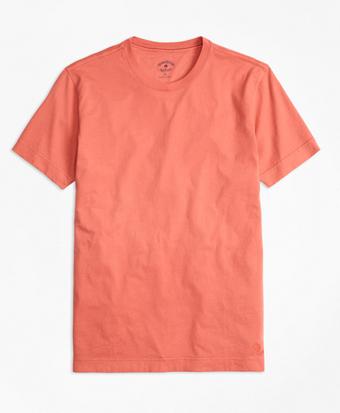 Garment-Dyed Jersey-Knit T-Shirt