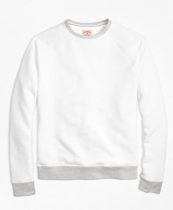 French Terry Crewneck Sweatshirt