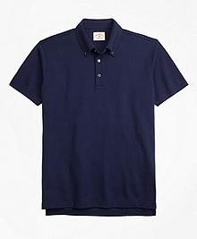 Cotton Jacquard Polo Shirt