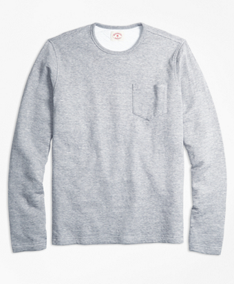 Double-Knit Pique Long-Sleeve T-Shirt