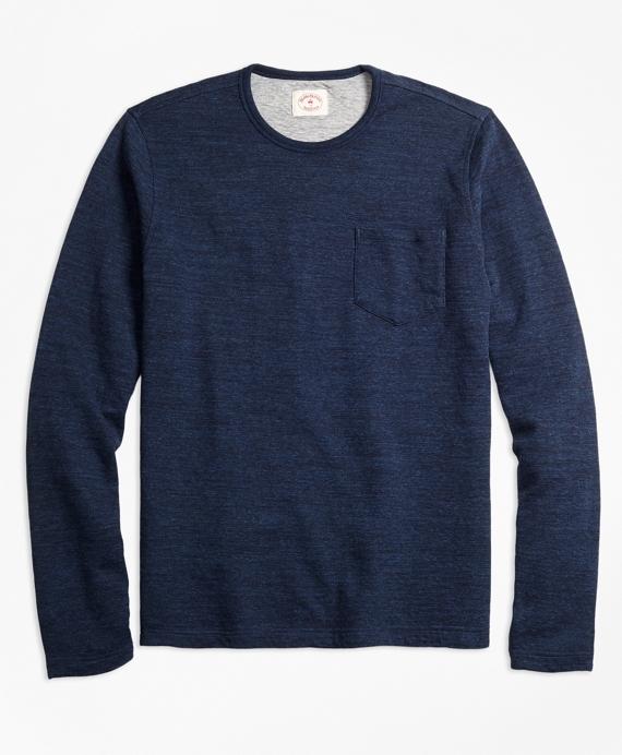 Double-Knit Pique Long-Sleeve T-Shirt