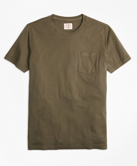 Garment-Dyed T-Shirt Olive