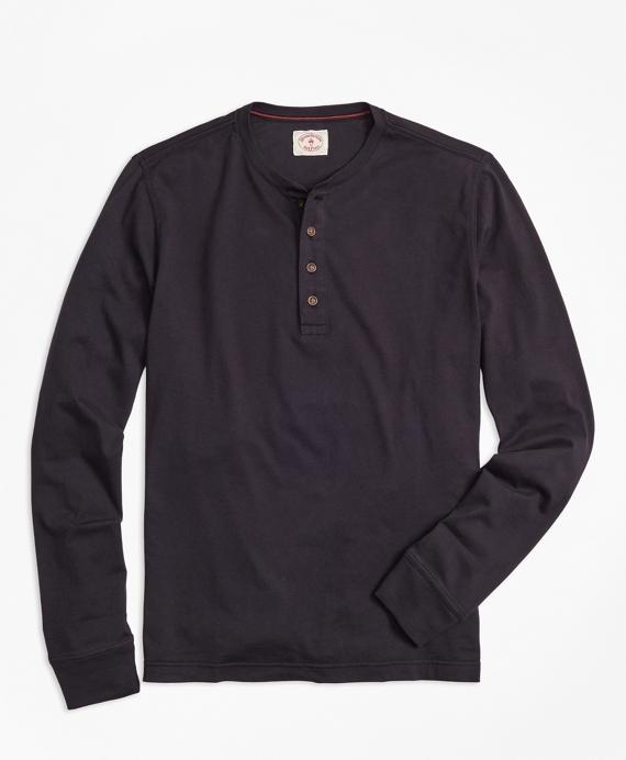 Garment-Dyed Henley