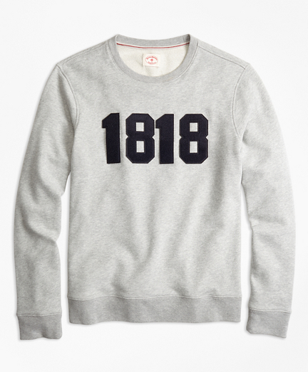 1818 Cotton French Terry Sweatshirt
