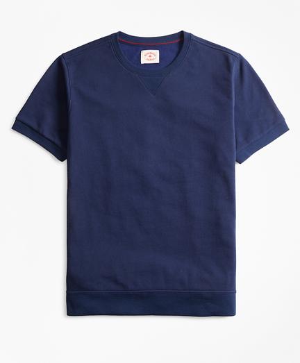 French Terry Short-Sleeve Sweatshirt