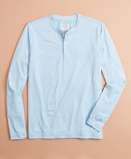 Performance Series Long-Sleeve Logo Henley