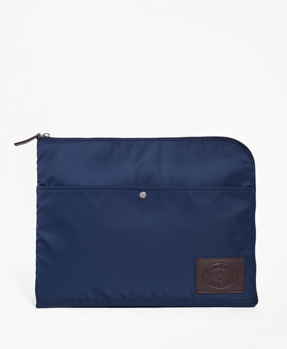 Nylon Media Case Navy