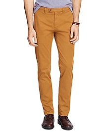 Slim Fit Garment-Dyed Chinos