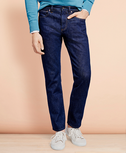 901 Slim Straight Stretch Jeans in Indigo Denim