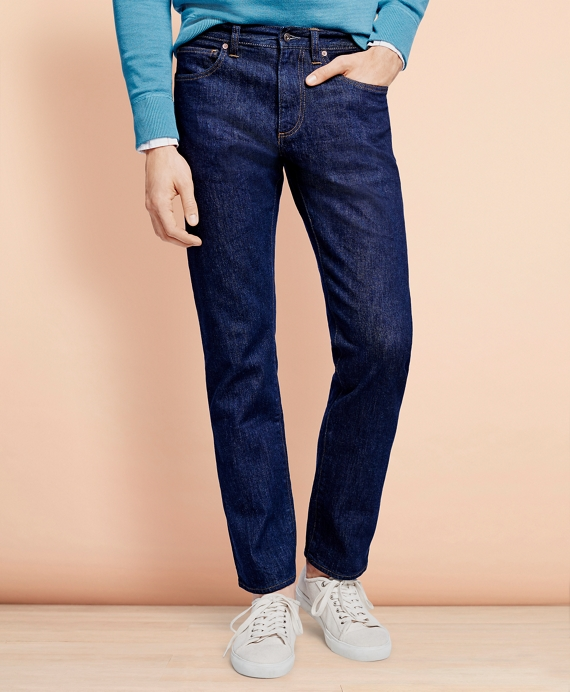 901 Slim Straight Fit Denim Jeans Navy Wash