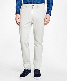 Lightweight Textured Stretch Chinos