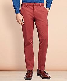 Garment-Dyed Stretch Chinos