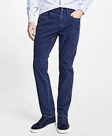 Five-Pocket Fine Wale Stretch Corduroys
