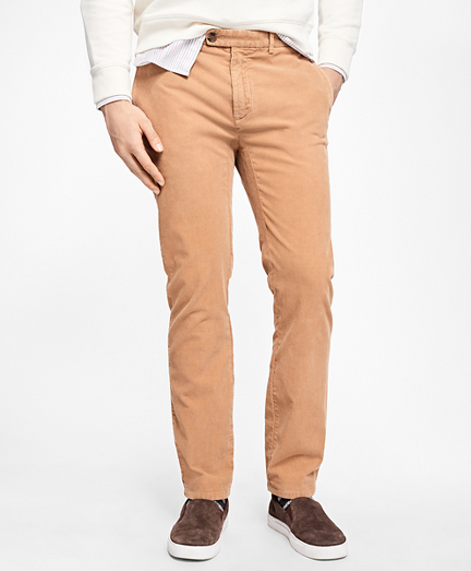 Slim-Fit Stretch Corduroy Chinos