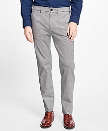 Glen Plaid Stretch Chinos