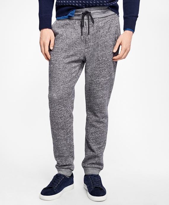 Marled Terry Joggers