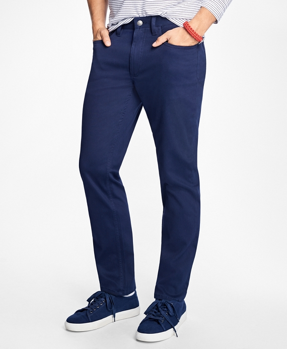 Five-Pocket Bedford Cords Navy
