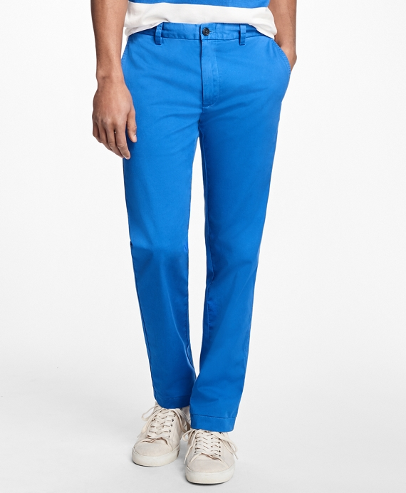 Lightweight Stretch Chinos Blue