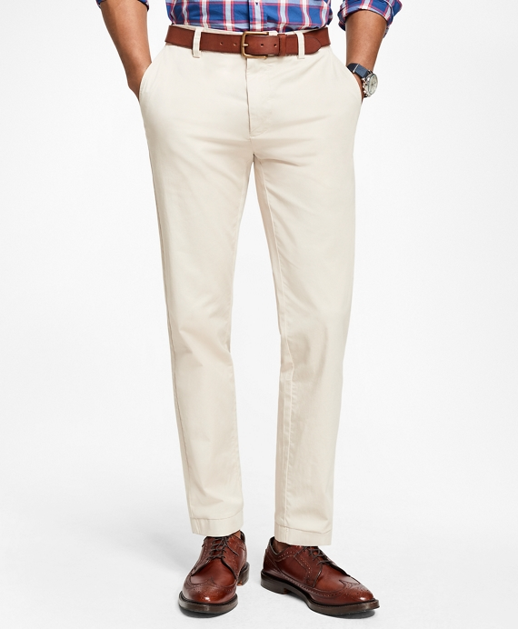 Lightweight Stretch Chinos Oatmeal