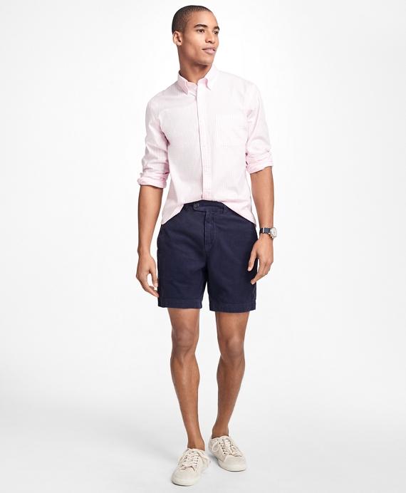 Garment-Dyed Pinwale Corduroy Shorts Navy
