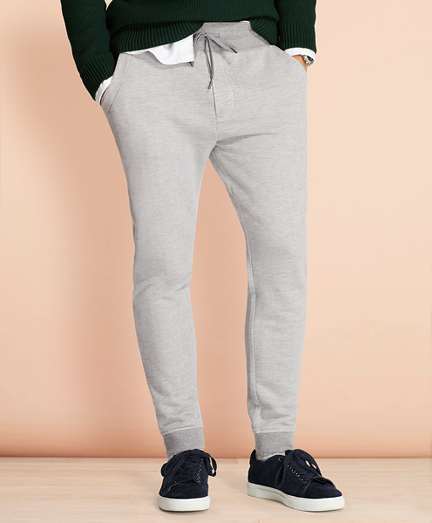 Herringbone Jacquard Sweatpants