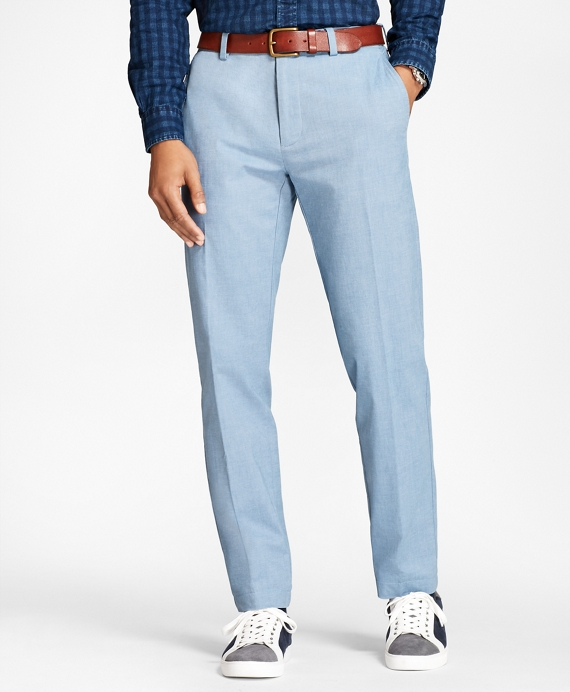Cotton Twill Chinos Blue
