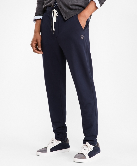 French Terry Sweatpants Navy