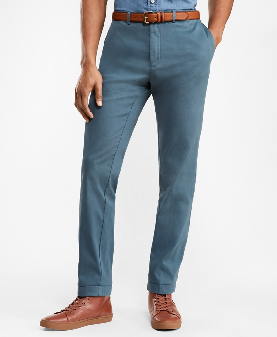 Slim-Fit Bedford Corduroy Chinos Dark Blue