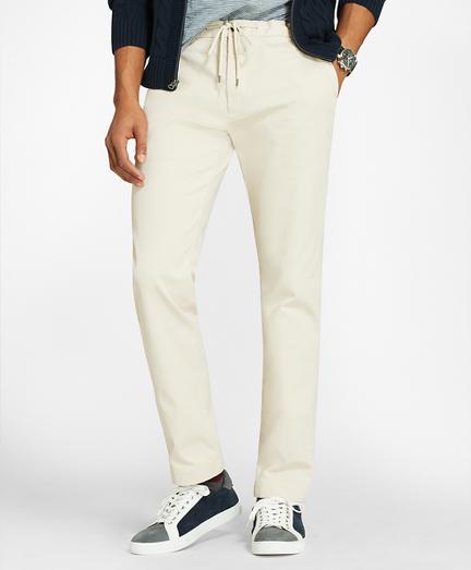 Cotton Twill Stretch Joggers