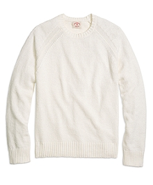 Hopsack Crewneck Sweater